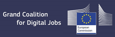 Лого на Grand Coallition For Digital Jobs